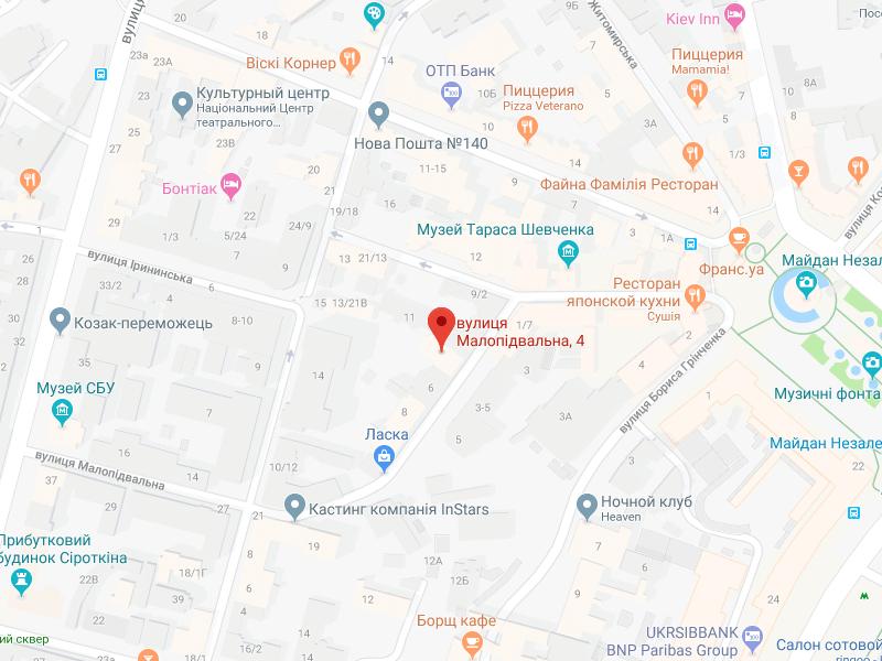 map-ukr Бюро переводов Киев | Pereklad.ua