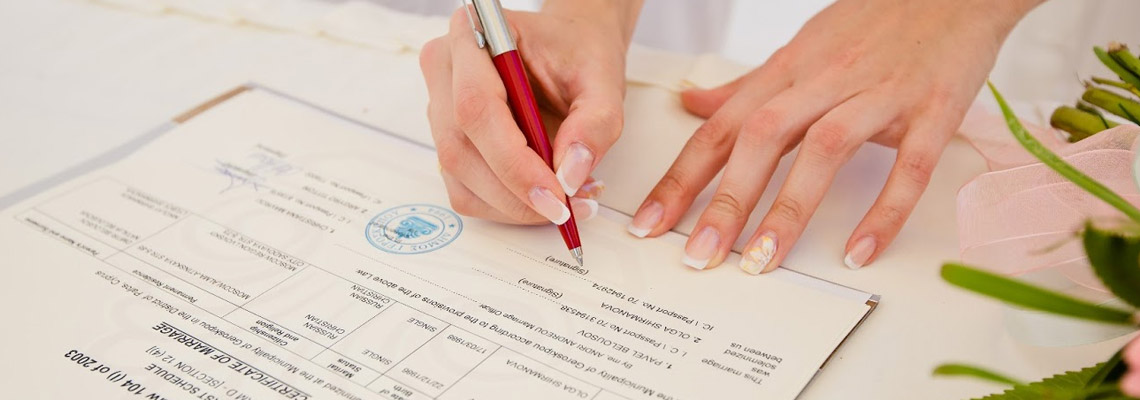 We will help you obtain a birth certificate or a marriage certificate in Ukraine